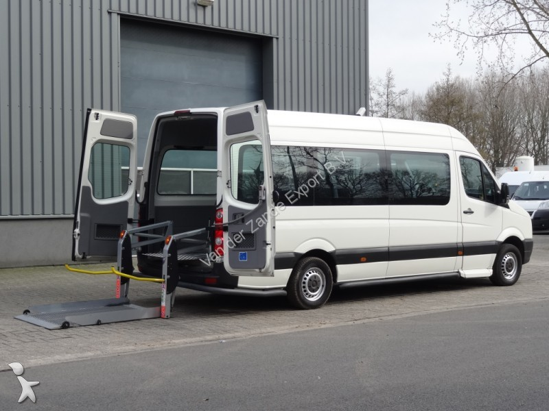 combi volkswagen crafter 2 5tdi l3h2 invaliden lift 9pers. Black Bedroom Furniture Sets. Home Design Ideas