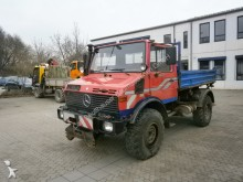 Unimog U 1450 incl. Rahmenseilwinde und Bergestütze
