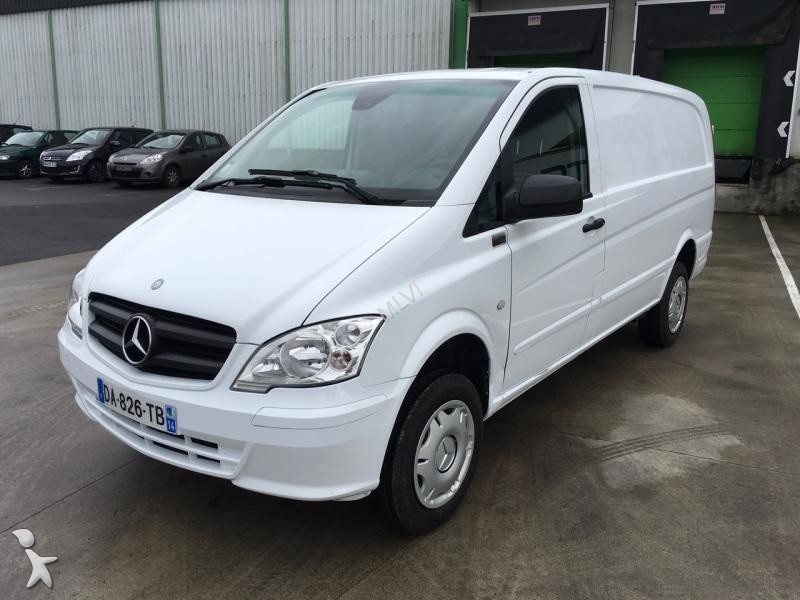 fourgon utilitaire mercedes vito 115 cdi gazoil occasion. Black Bedroom Furniture Sets. Home Design Ideas