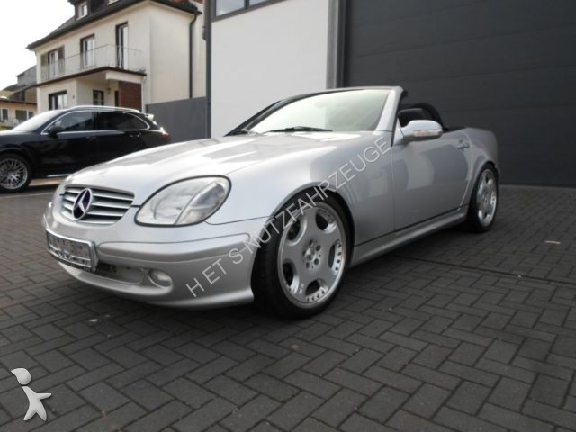 voiture mercedes cabriolet roadster slk 230 kompressor amg. Black Bedroom Furniture Sets. Home Design Ideas
