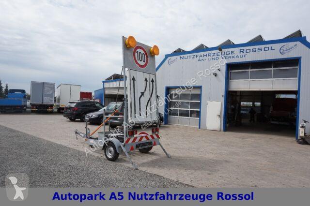 Voir les photos Véhicule utilitaire nc Mersch VT1-045 Verkehrsanhänger