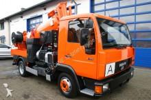 veículo utilitário MAN 8.174 4x2 Müller 2,7m³ Saugwagen als Kipper ADR