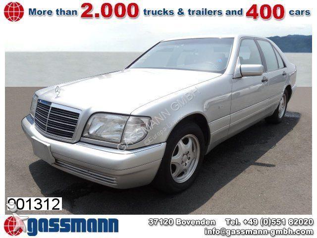 voiture mercedes cabriolet s 320 limousine modelljahr 1997 8x vorhanden occasion n 2063778. Black Bedroom Furniture Sets. Home Design Ideas