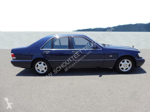 Voir les photos Véhicule utilitaire Mercedes S  Limousine S , mehrfach VORHANDEN! Klima