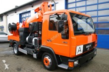 véhicule utilitaire MAN 8.174 4x2 Müller 2,7m³ Saugwagen als Kipper ADR