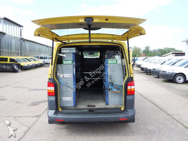 fourgon utilitaire volkswagen transporter t5 1 9l tdi werkstatteinbau gazoil occasion n 2100290. Black Bedroom Furniture Sets. Home Design Ideas