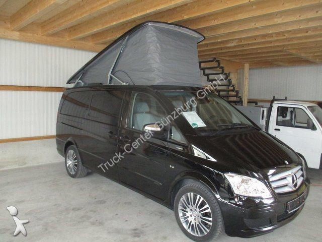 camping car mercedes viano 3 0 cdi marco polo edition leder xenon occasion n 2104042. Black Bedroom Furniture Sets. Home Design Ideas