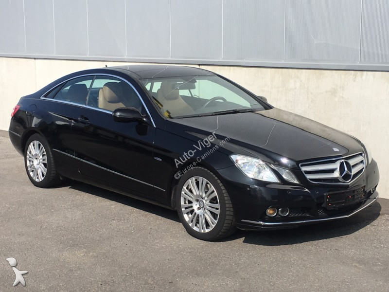 voiture mercedes coup classe e 250 cdi coupe gazoil occasion n 2131082. Black Bedroom Furniture Sets. Home Design Ideas