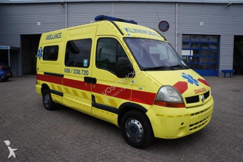 ambulance renault master ambulance manual 2004 gazoil occasion n 2143253. Black Bedroom Furniture Sets. Home Design Ideas