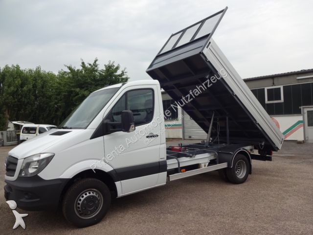 used mercedes three way side tipper van sprinter 516 316 3. Black Bedroom Furniture Sets. Home Design Ideas