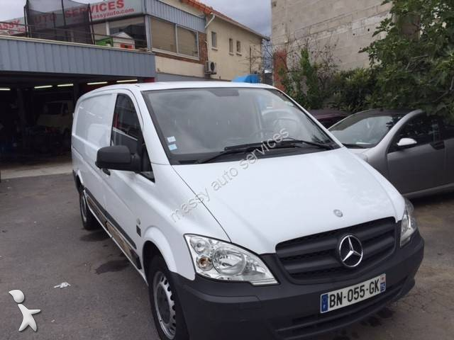 utilitaire frigo mercedes caisse positive vito 110 cdi gazoil occasion n 2185993. Black Bedroom Furniture Sets. Home Design Ideas