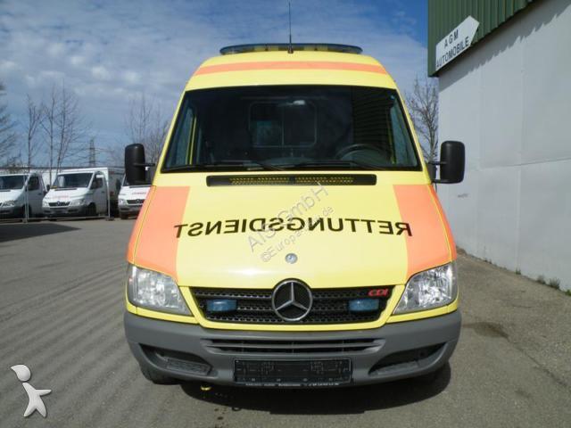 ce711a3742 ambulance used Mercedes n a Sprinter 316 CDI Rettungswagen Ambulance Klima  - Ad n° ...
