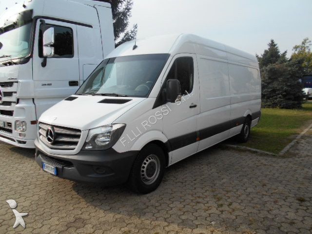 fourgon utilitaire mercedes sprinter 313 cdi 2014 passo lungo tetto alto euro 5 venduto occasion. Black Bedroom Furniture Sets. Home Design Ideas