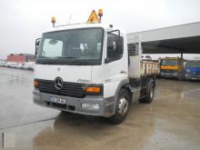 Mercedes three-way side tipper van