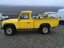 Land Rover flatbed van