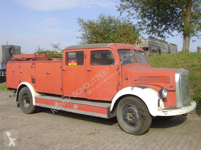 Voir les photos Véhicule utilitaire Mercedes - L3500/42  TLP 15 L3500/42 TLP 15 Feuerwehr Löschwagen