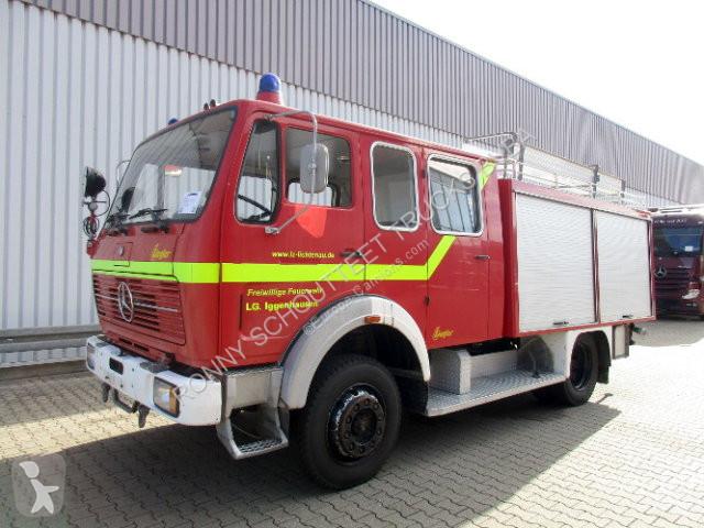 Zobaczyć zdjęcia Pojazd dostawczy Mercedes S 1019 AF  4x4 1019 AF 4x4 Tanklöschfahrzeug (TLF 16/25) , Aufbau Ziegler