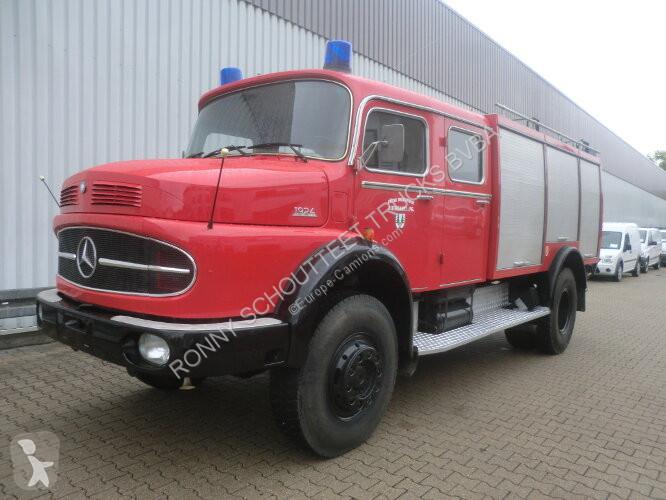 Zobaczyć zdjęcia Pojazd dostawczy Mercedes LAK 1924   4x4 LAK 1924 4x4 TLF