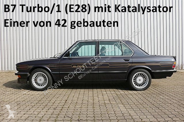 View images Alpina B7 Turbo/1 (E28) mit Katalysator B7 Turbo/1 (E28) mit Katalysator van