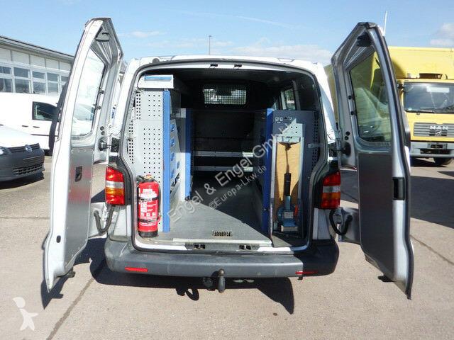 fourgon utilitaire volkswagen transporter t5 2 5l 4 motion werkstatteinbau a gazoil occasion. Black Bedroom Furniture Sets. Home Design Ideas