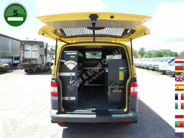 fourgon utilitaire volkswagen transporter t5 2 0l tdi werkstatteinbau standhei gazoil occasion. Black Bedroom Furniture Sets. Home Design Ideas
