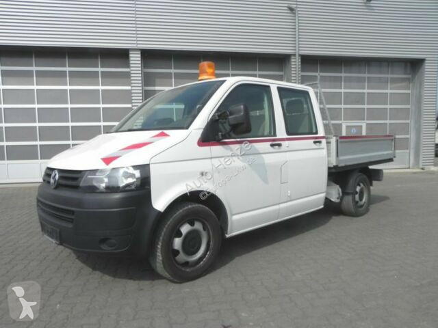 Volkswagen T5 2,0 BiTDI Pritsche Doppelkabine Scheckheft Transporter/Leicht-LKW