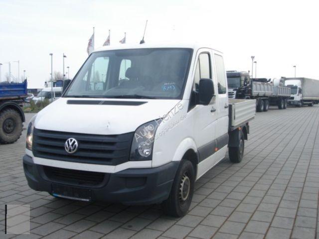 Volkswagen CRAFTER 35 2,0 TDI Pritsche Doppelkabine Motor E Transporter/Leicht-LKW