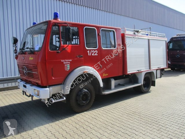 Zobaczyć zdjęcia Pojazd dostawczy Mercedes 1017 AF  4x4 1017 AF 4x4, TLF16/25