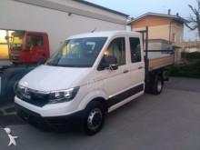 MAN three-way side tipper van