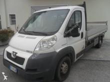 Peugeot dropside flatbed van