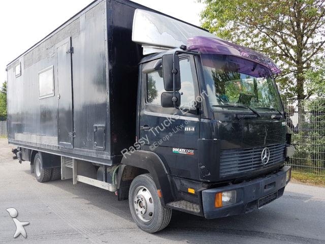 Camper Mercedes 814 Wohm Mit Kuche Zulassung Gasolio Usato N 2893980