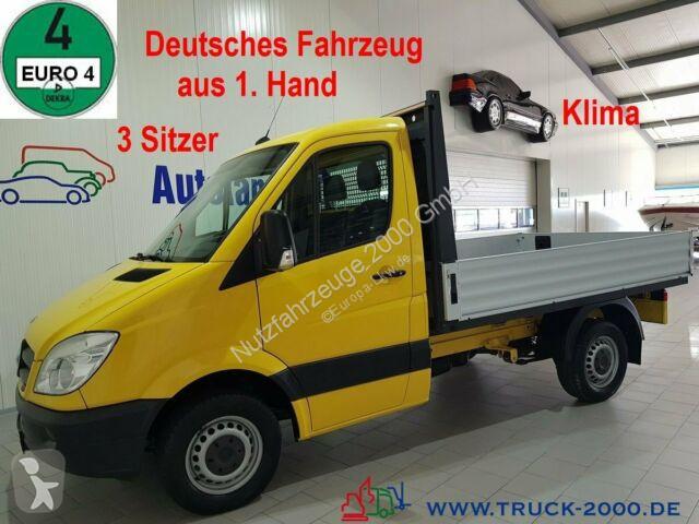 Преглед на снимките Лекотоварен автомобил Mercedes Sprinter 215 CDI 3 Sitzer Klima Schalter 1. Hand