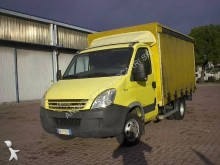 Iveco tarp covered bed flatbed van