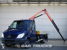 Mercedes Sprinter 516 CDI Palfinger Kraan Open Laadbak Towbar