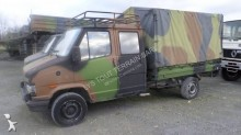 Peugeot tarp covered bed flatbed van