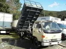 Toyota three-way side tipper van
