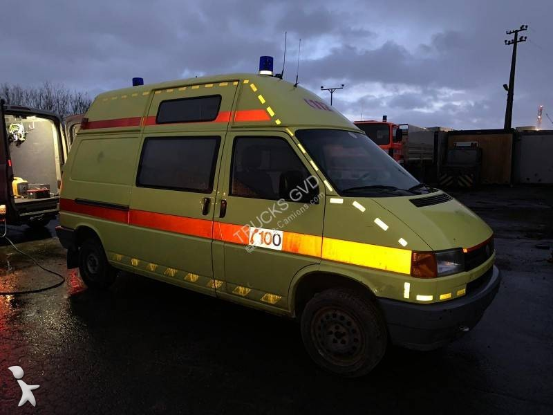 ambulance volkswagen t4 4x2 occasion n 3008263. Black Bedroom Furniture Sets. Home Design Ideas