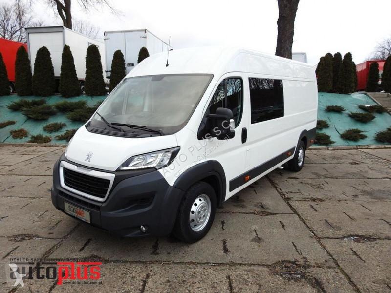 Pojazd dostawczy Peugeot BOXERFURGON BRYGADOWY 7 MIEJSC KLIMATYZACJA LEDY AdBlue EURO6 [