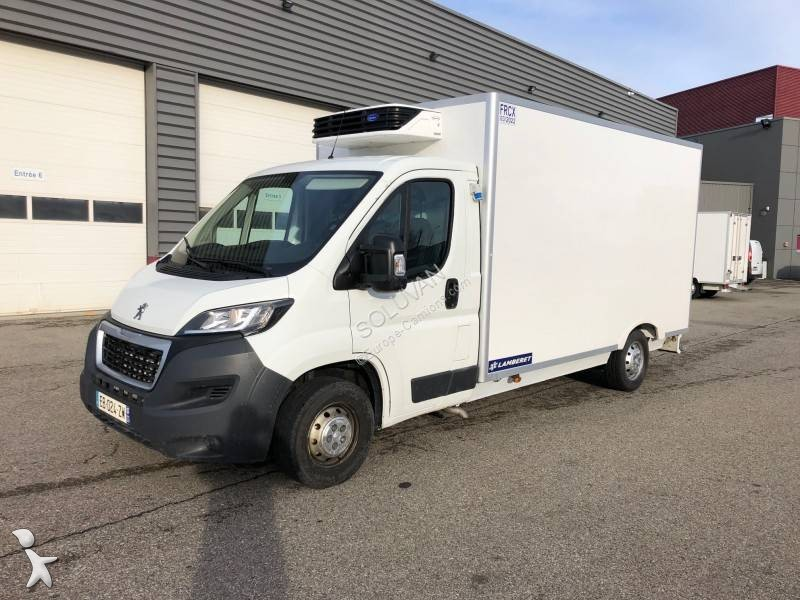9c7129c715 Used Peugeot Boxer negative trailer body refrigerated van L3H2 HDI 160 CV  Diesel - n°3023211
