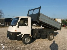 Effedi three-way side tipper van