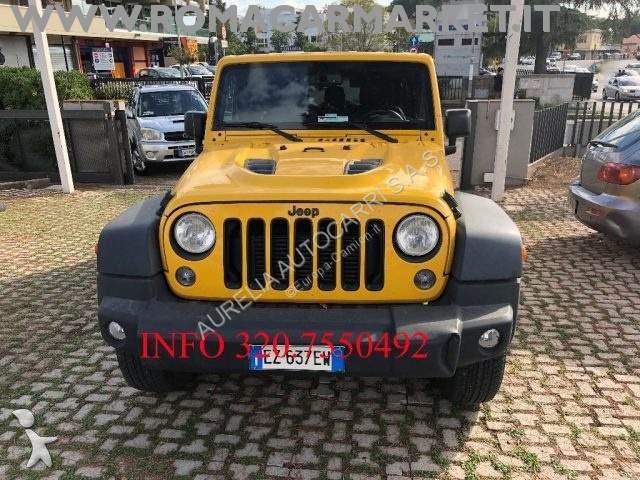 used jeep wrangler car unlimited 2.8 crd dpf x auto kmcertificati