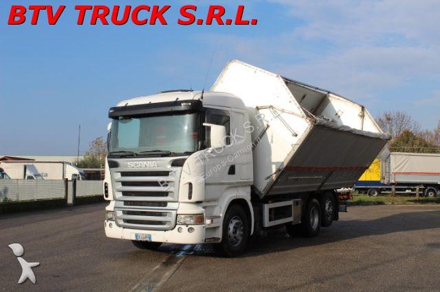 Veicolo commerciale Scania R 420 MOTRICE 3 ASSI RIBALT. BILATERALE EURO 4
