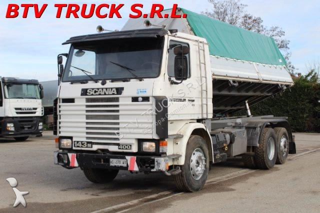 Veicolo commerciale Scania 143 M 400 MOTRICE RIBALTABILE BILATERALE