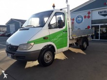 Mercedes three-way side tipper van