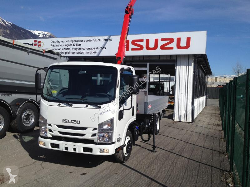 View images Isuzu M21 LARGE M21 MARGE (H-3395MM) GRUE PK2900 + PLATEAU ALU van