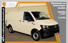 Volkswagen Transporter T6, gwarancja, klima, X2015