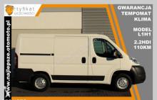 Peugeot Jumper L1H1, gwarancja, tempomat, klima