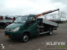used three-way side tipper van