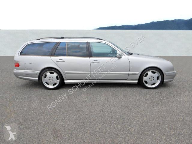 Voir les photos Véhicule utilitaire Mercedes E 55 AMG T-Modell E 55 AMG T-Modell Autom./Klima