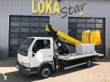 Nissan telescopic platform commercial vehicle